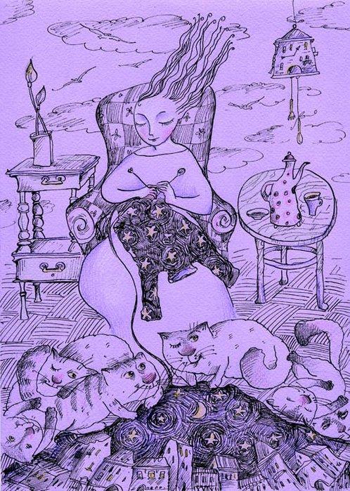 Рисунки с кошками