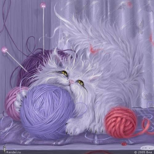 Анимации, картинки,фото с кошками