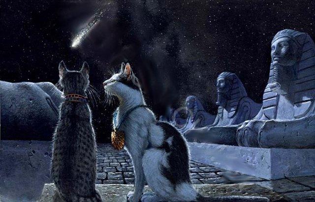 Фэнтези кошки